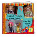 Kids 3rd Bday - 8x8 Photo Book (39 pages)