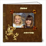 Sisters photo album - 8x8 Photo Book (20 pages)