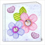 Hearts & Flowers 8 x 8 20 page all occasion album - 8x8 Photo Book (20 pages)
