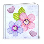 Hearts & Flowers 6 x 6 20 page all occasion album - 6x6 Photo Book (20 pages)