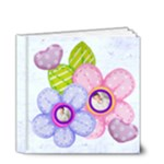 Hearts & Flowers 4 x 4 deluxe 20 page all occasion album - 4x4 Deluxe Photo Book (20 pages)
