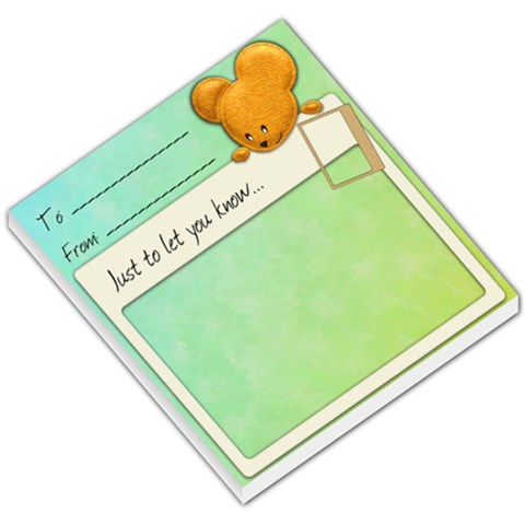 Mouse Memo By Shelly   Small Memo Pads   Bqr7ywstox74   Www Artscow Com