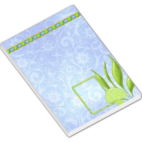 Spring Cuties Memo Pad 1 By Lisa Minor   Large Memo Pads   Pmsa15ar05hw   Www Artscow Com