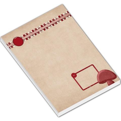 Spring Cuties Memo Pad 1 By Lisa Minor   Large Memo Pads   0m6w9d48or9d   Www Artscow Com
