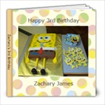 Zachary s 3rd Birthday - 8x8 Photo Book (20 pages)