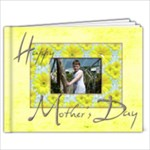 Happy Mothers Day 9 x 7 20 page book - 9x7 Photo Book (20 pages)