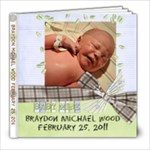 Braydon Baby  - 8x8 Photo Book (39 pages)