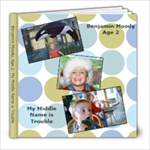 Benjamin Moody Age 2 - 8x8 Photo Book (20 pages)