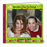 Valentines Day Tea Party 2011 - 8x8 Photo Book (20 pages)