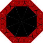 black hearts - Folding Umbrella