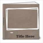 Beach Portfolio - 8x8 Photo Book (20 pages)