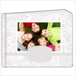 White Flower book - 7x5 Photo Book (20 pages)