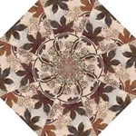 leaves brown umbrella - Folding Umbrella