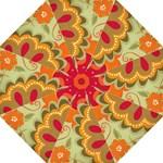 retro orange umbrella - Folding Umbrella