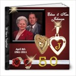 50 years - 8x8 Photo Book (20 pages)