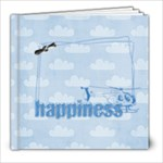 Tiny Pilot 8x8 Album, template - 8x8 Photo Book (20 pages)