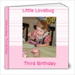 Third Birthday - 8x8 Photo Book (20 pages)