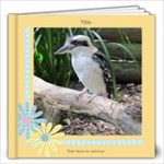 Crisp Buttercup General Purpose Book 12x12 (20 Pages) - 12x12 Photo Book (20 pages)