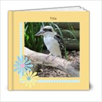 Crisp Buttercup General Purpose Book 6x6 (20 Pages) - 6x6 Photo Book (20 pages)