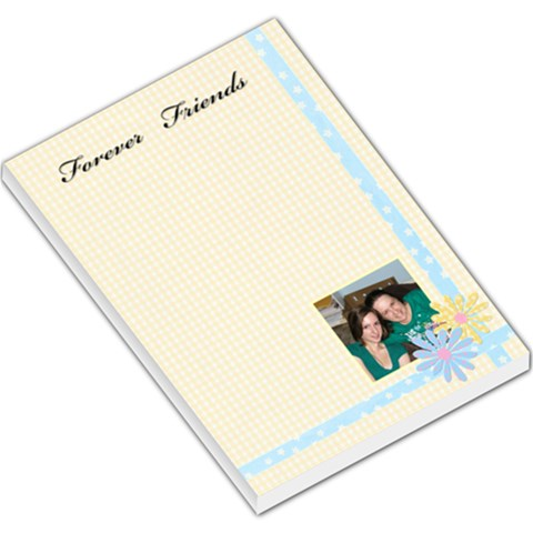 Buttercup Forever Friends Large Memo By Deborah   Large Memo Pads   Eicjl0h507um   Www Artscow Com
