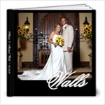 Walls Wedding Album - 8x8 Photo Book (20 pages)