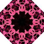pink skull5 umbrella - Folding Umbrella