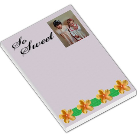 Sweet Candy Large Memo By Deborah   Large Memo Pads   38q1d3xb5aed   Www Artscow Com