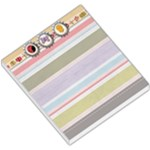 Spring Easter Stripe Small Memo Pad with Chick, Butterfly, and Ladybug - Small Memo Pads