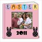 easter 2011 - 8x8 Photo Book (20 pages)