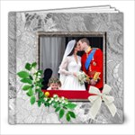 Our Perfect Wedding 8 x 8 20 Page Book - 8x8 Photo Book (20 pages)