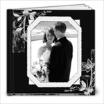 Black & White Any Occasion 8x8 20 pg Photo Book - 8x8 Photo Book (20 pages)