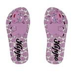 Hippo Pink Children s Flip Flops - Kid s Flip Flops