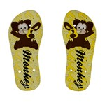 Monkey Children s Flip Flops - Kid s Flip Flops