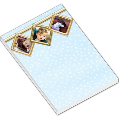 All Hanging In A Row By Deborah   Large Memo Pads   R3qw343nxzc6   Www Artscow Com