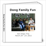 Fam in SD - 8x8 Photo Book (20 pages)