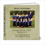 Spring Soccer 2011 - 6x6 Photo Book (20 pages)
