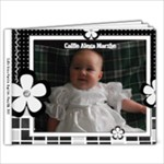 book for baby callie black and white - 9x7 Photo Book (20 pages)