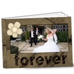 Our Forever 20 page Moccachino Sepia Deluxe 9 x 7 album - 9x7 Deluxe Photo Book (20 pages)