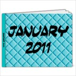 jan - 9x7 Photo Book (20 pages)