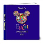 Gavin s Passport - 6x6 Photo Book (20 pages)