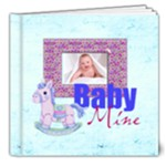 Baby Mine Deluxe  20 page 8 x8 Album Boy or Girl - 8x8 Deluxe Photo Book (20 pages)