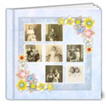Flora All Occasion Deluxe  8 x 8 Classic 20 Page Book - 8x8 Deluxe Photo Book (20 pages)