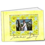Summer Days Deluxe 9 x 7 39 page book - 9x7 Deluxe Photo Book (20 pages)