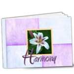 Harlequin Harmony Deluxe 9 x 7 20 page book - 9x7 Deluxe Photo Book (20 pages)