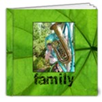 Family Simple Sentiments Deluxe Classic 8 x 8 album - 8x8 Deluxe Photo Book (20 pages)