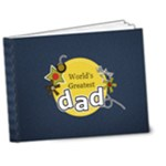 7x5 DELUXE Photo Book : World s Greatest dad - 7x5 Deluxe Photo Book (20 pages)