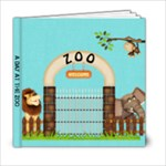 zoo book - 6x6 Photo Book (20 pages)