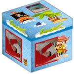 Pirate Pete Boys Toy Box 12 in storage stool - Storage Stool 12