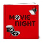 movie night - 6x6 Photo Book (20 pages)
