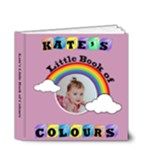 Girls Little Book of Colours - 4x4 Deluxe Photo Book (20 pages)